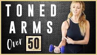 Download Toned Arm workout For Women Over 50 | Start Losing Those Flabby Bat Wing Arms Today! Video