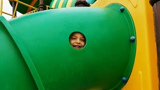Download Outdoor playground fun for kids at Water Park. Video from KIDS TOYS CHANNEL Video