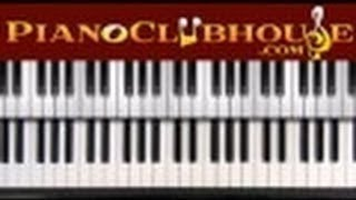 Download RUDOLPH THE RED NOSED REINDEER - Traditional Christmas (easy piano tutorial lesson) Video