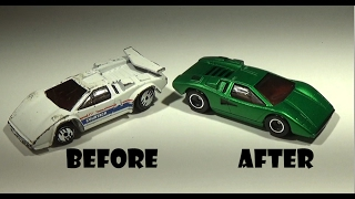 Download Hot Wheels Custom Lamborghini Countach LP400 Video