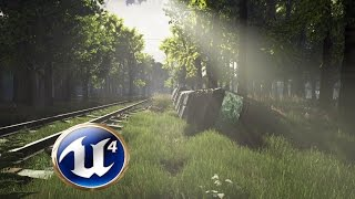 Download Speed Level Design - The Railroad - Unreal Engine 4 Video