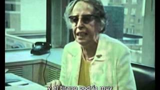 Download Hannah Arendt entrevistada por Roger Errera (1973) 1/4 Video