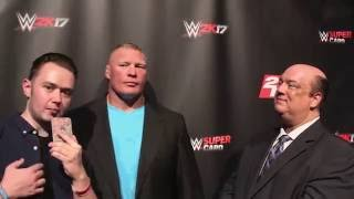 Download Brock Lesnar and Paul Heyman discuss Randy Orton & Conor McGregor before WWE SummerSlam Video