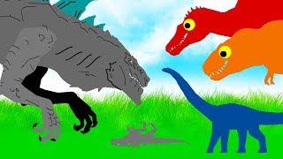 Download Diplodocus vs Zilla ( 1998 ) Animated Dino Cartoons - amazing stories Video