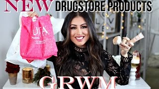 Download New DRUGSTORE products GRWM 2017: NYX foundation, maybelline Video