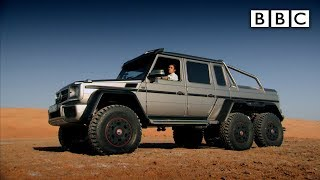 Download Richard Hammond tests a 6x6 SUV in Abu Dhabi - Top Gear: Series 21 Episode 4 - BBC Two Video