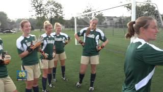 Download Notre Dame Women's Soccer Goalkeeper Battle Video