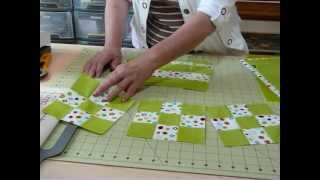 Download How to make Fast 9 - Patches from Fat Quarters - Quilting Tips & Techniques 034 Video