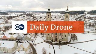 Download #DailyDrone: Kloster Ottobeuren, Bayern Video