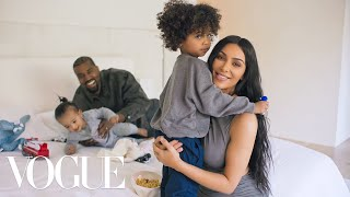 Download 73 Questions With Kim Kardashian West (ft. Kanye West) | Vogue Video