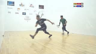 Download 2018 Racquetball World Championships - Men's Quarterfinals - Montoya MEX vs Moscoso BOL Video