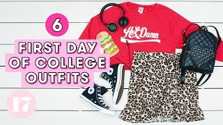 Download 6 First Day of College Outfit Ideas | Style Lab Video