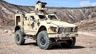 Download CROWS II .50 Cal Machine Gun Mounted On M-ATV Video