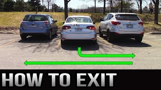 Download How to Exit a Parking Spot - 90 Degrees and Parallel Video
