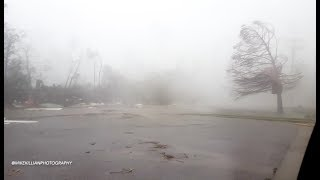 Download INSIDE THE EYE WALL! Hurricane Michael / Panama City, FL Video