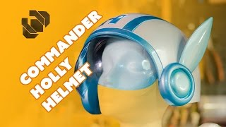 Download How to 3D Model and Print Commander Holly's Helmet - Prop: 3D Video