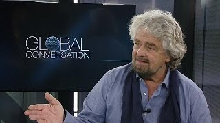 Download 'Political amateurs are conquering the world,' Beppe Grillo tells euronews - global conversation Video