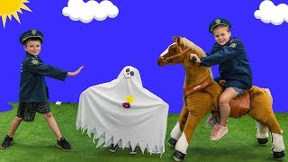 Download Paw Patrol Hunt with Assistant and Batboy Ryan hunting for the silly Ghost Video
