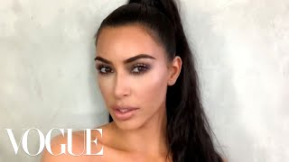 Download Kim Kardashian West's Guide to Viral Holiday Glam | Beauty Secrets | Vogue Video