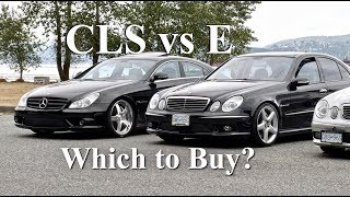 Download CLS55 vs E55 AMG | Which to Buy? w219 vs w211 (4K) Video
