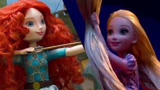 Download Disney Princess Theater with Royal Shimmer Dolls | Disney Toy Adventures | Disney Video
