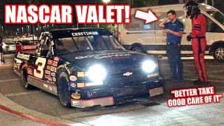 Download We Tried To Valet My NASCAR... They Were NOT Amused! Video