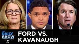 Download Dr. Christine Blasey Ford Testifies Against Brett Kavanaugh | The Daily Show Video