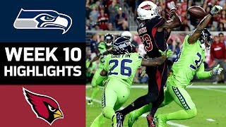 Download Seahawks vs. Cardinals | NFL Week 10 Game Highlights Video