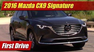 Download 2016 Mazda CX9: First Drive Video