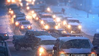 Download Motorists Advised To Be Ready For Difficult Travel Conditions in Winter Storm Video