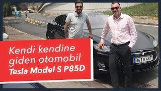 Download Doğan Kabak   Kendi Kendine Giden Elektrikli Otomobil - Tesla Model S P85D Video
