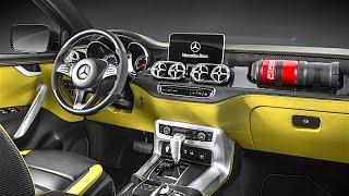 Download Mercedes Pickup INTERIOR 2017 In Detail Mercedes X Class Pickup Truck INTERIOR CARJAM TV HD Video