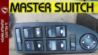 Download REPARACION DE MASTER SWITCH DE VENTANAS ELECTRICAS (no sube) Video