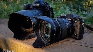 Download NOUVEAU Fujifilm XT2 VS Nikon D4 www destination reportage com Video