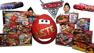 Download Disney Cars 3 Toys Worlds Biggest Surprise Egg Toy Collection Lightning Mcqueen Video