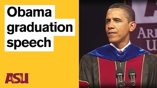 Download Obama at ASU: Commencement Speech with intro by Michael Crow Video