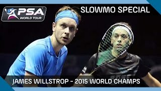 Download Squash: James Willstrop - 2015 World Champs SlowMo Special Video