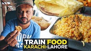 Download Train ka Khana | GreenLine AC Business Class Coach | Pakistan Railway | Pakistani Street Food Video