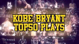 Download Kobe Bryant Top 50 All Time Plays Video