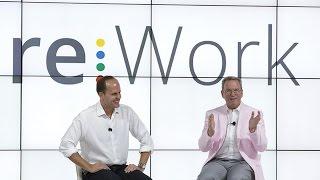 Download Eric Schmidt & Laszlo Bock talk at re:Work Video