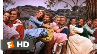 Download Seven Brides for Seven Brothers (5/10) Movie CLIP - The Barn Dance (1954) HD Video