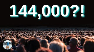 Who are the 144,000 people mentioned in the book of revelation