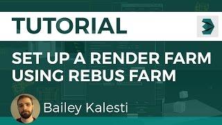Download How to Set up a Render Farm Using RebusFarm (3D Studio Max) Video