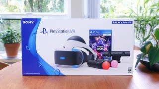 Download PlayStation VR Unboxing and First Impressions Video