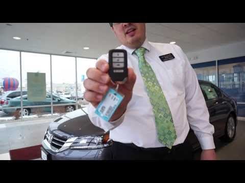 Honda Smart Entry and Push Button Start