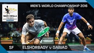Download Squash: Mo. ElShorbagy v Gawad - Men's World Championship SF Highlights Video