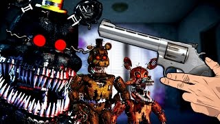 Download MATANDO ANIMATRONICOS ZOMBIES NIGHTMARE! - Call Of Duty Zombies Mapa FIve Nights at Freddy's 4 Video
