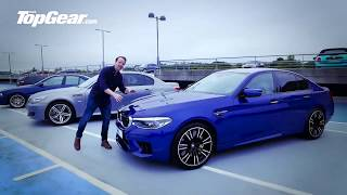 Download 2018 BMW M5 592hp 😈 E39, E60, or new F10 makes the best noise ? - Top Gear Video