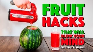 Download 6 Fruit Hacks That'll BLOW YOUR MIND But You'll Never Use! Video