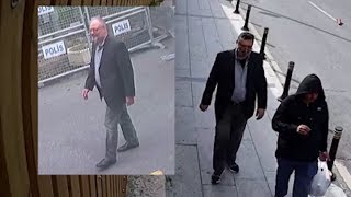 Download 'Body double' exits Saudi Consulate wearing Jamal Khashoggi's clothes, video shows Video